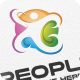 Colorful People - Logo Template - GraphicRiver Item for Sale