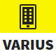 Varius - Mobile and Tablet Creative Template - ThemeForest Item for Sale