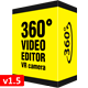 360° Video Editor v1.5 & VR Camera for After Effects - VideoHive Item for Sale