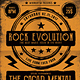 Rock Music Event Flyer / Poster - GraphicRiver Item for Sale
