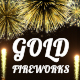 Gold Fireworks - VideoHive Item for Sale