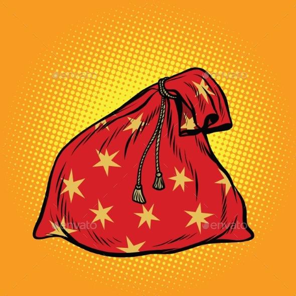 Christmas Gift Bag Santa Claus