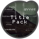 Title Pack - VideoHive Item for Sale