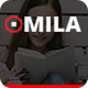 Mila - One Page HTML Template - ThemeForest Item for Sale