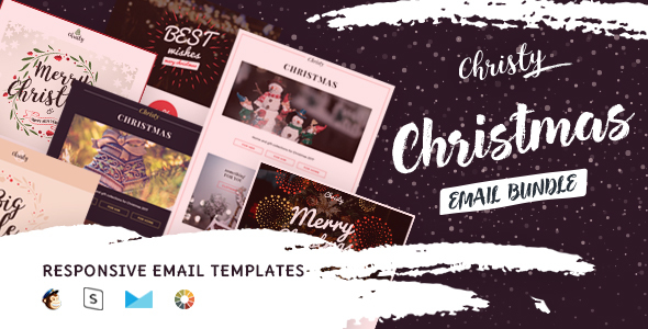 Christy  – Responsive HTML Email + StampReady, MailChimp & CampaignMonitor compatible files