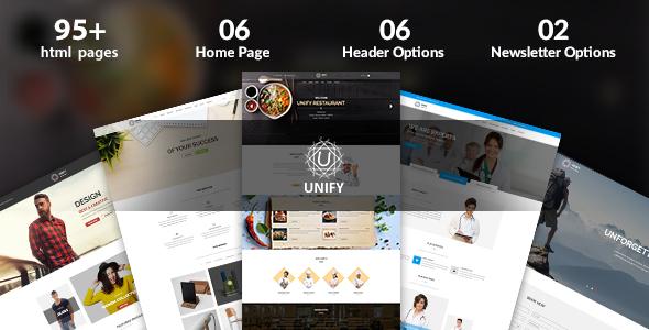 Unify – Multipurpose HTML Template