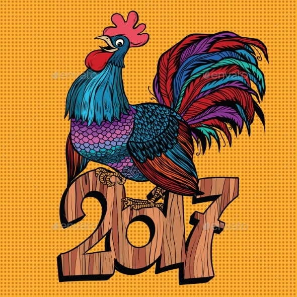 Cock 2017 New Year