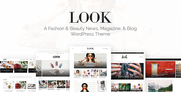 Look: Minimal Magazine and Blog WordPress Theme