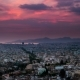 Panorama of Athens at Sunset. Beautiful Cityscape - VideoHive Item for Sale