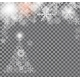 Christmas Snowflakes Background Vector - GraphicRiver Item for Sale