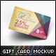 Gift Card Mockup - GraphicRiver Item for Sale