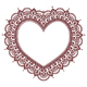 Valentine's Day Grettings Card with Heart Mehndi - GraphicRiver Item for Sale