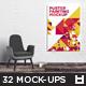Big Bundle Poster Painting Mockup Vol. 1 - GraphicRiver Item for Sale