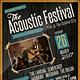Acoustic Festival Flyer / Poster - GraphicRiver Item for Sale