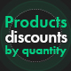 Products discounts by quantity - CodeCanyon Item for Sale