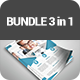 Corporate Flyers Bundle 3 in 1 - GraphicRiver Item for Sale