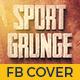 Sport Grunge Facebook Timeline Cover - GraphicRiver Item for Sale