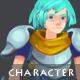 Lancer - Character Sprite - GraphicRiver Item for Sale