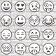 Big 36 Outlined Vector Emoji - GraphicRiver Item for Sale