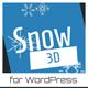 Snow 3D - Christmas Plugin for WordPress - CodeCanyon Item for Sale