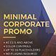 Minimal Corporate Promo - VideoHive Item for Sale