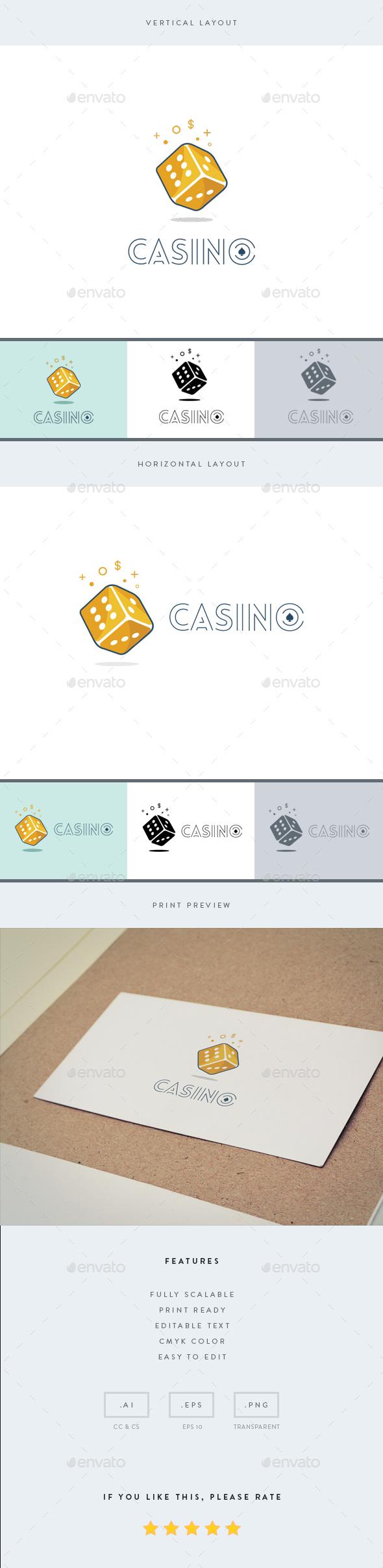 Casino - Logo Template