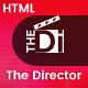 The Director - Film Director & Video Portfolio HTML Template - ThemeForest Item for Sale