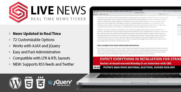 Live News - Real Time News Ticker Download