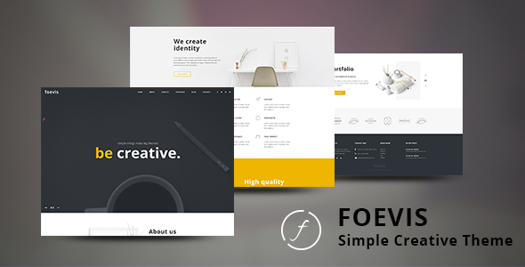 Foevis - Portfolio WordPress Theme