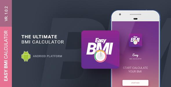 Easy BMI Calculator | Android Studio Mobile Application Download