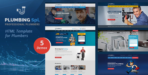 Plumbing Spl HTML Template