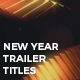New Year Golden Titles - VideoHive Item for Sale