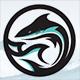 Shark Wave Logo - GraphicRiver Item for Sale