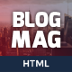 BlogMag - Responsive HTML5 Magazine Template - ThemeForest Item for Sale
