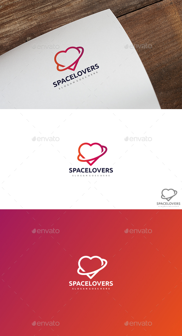 Space Love Logo