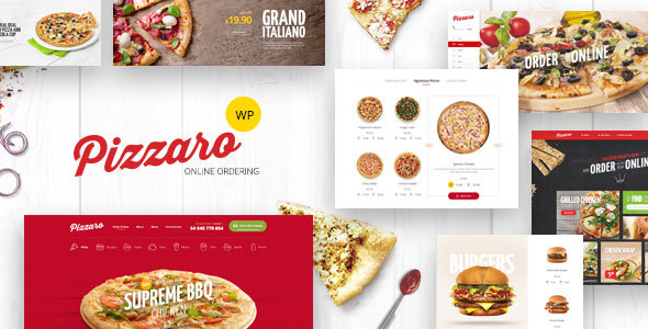 Pizzaro - Fast Food & Restaurant WooCommerce Theme