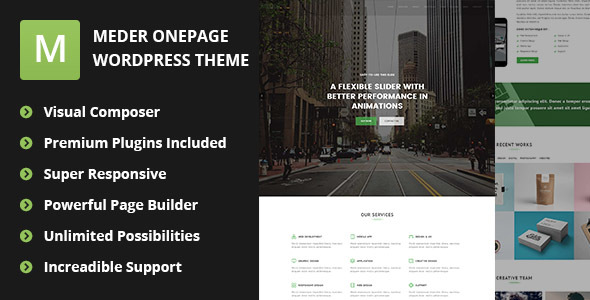 Freelancer Portfolio Theme - Meder