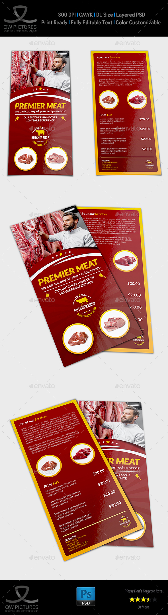Cow Flyer Templates from GraphicRiver