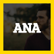 ANA   Personal Business Card Template - ThemeForest Item for Sale