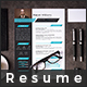 Resume cv word - GraphicRiver Item for Sale