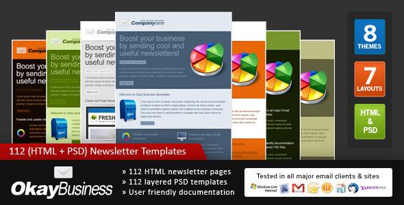 Okay Business - Multi Usage Newsletter