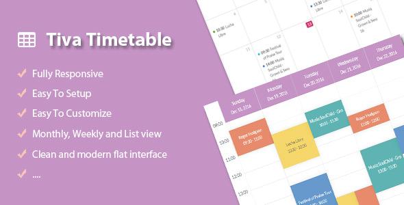 Tiva Timetable