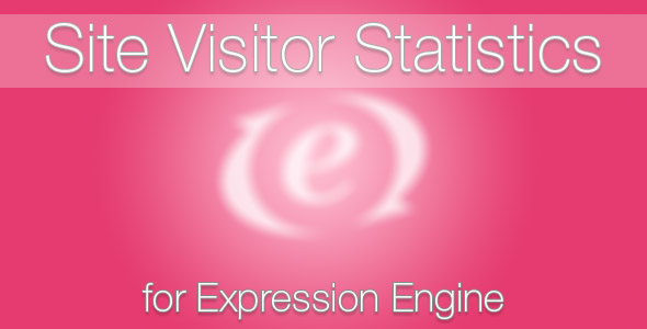 Site Visitor Statistics for ExpressionEngine
