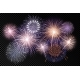 Set of Isolated Vector Fireworks on Transparent - GraphicRiver Item for Sale