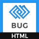 Bug - App Landing Page - ThemeForest Item for Sale