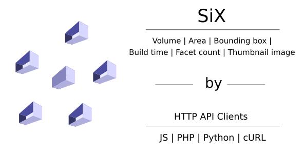 3D Printing Calculations API Clients