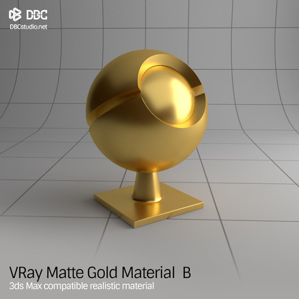 Gold and Metal 3D Materials & 3D Shaders from 3DOcean
