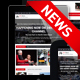 24h News I Magazine HTML Template - ThemeForest Item for Sale