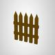 Low Poly Fences - 3DOcean Item for Sale