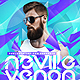 Electro DJ Concert Party Flyer Template - GraphicRiver Item for Sale